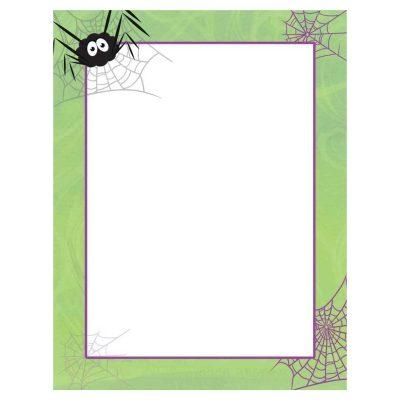 Spidey Swirls Halloween Paper