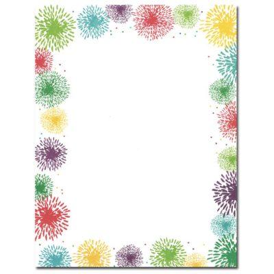 colorful-fireworks-border-paper