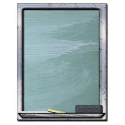 Chalkboard Border Paper
