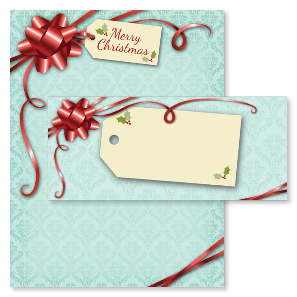Merry Christmas Gift Packages Holiday Paper