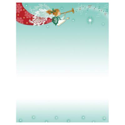 Herald Angel Christmas Holiday Printer Paper