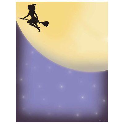 midnight-magic-witch-broomstick-halloween-computer-printer-paper