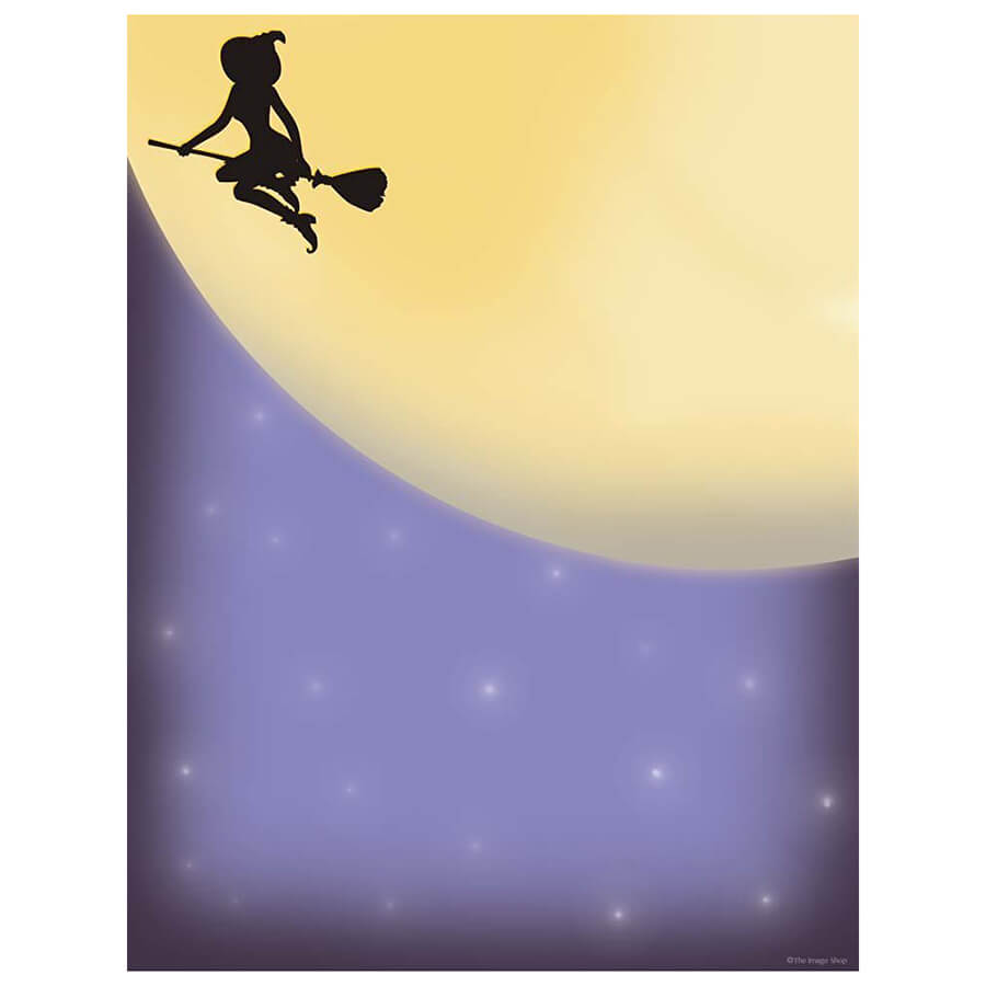 midnight-magic-witch-broomstick-halloween-computer-printer-paper