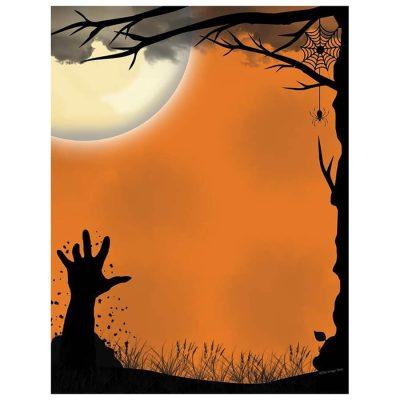 scary-hand-awakening-halloween-computer-printer-paper