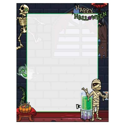 Deadmen Costume Party Halloween Paper