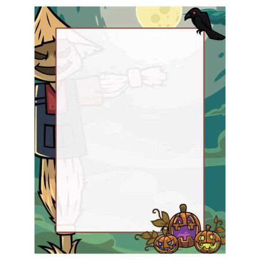 Scarecrow Halloween Paper