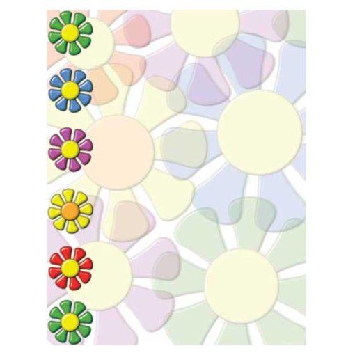 Riki Tiki Colorful Flowers Spring Floral Paper
